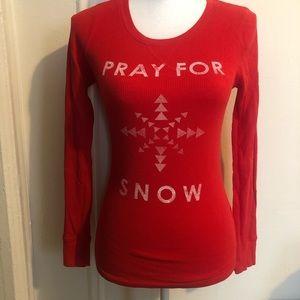Old Navy Holiday Christmas Thermal Shirt